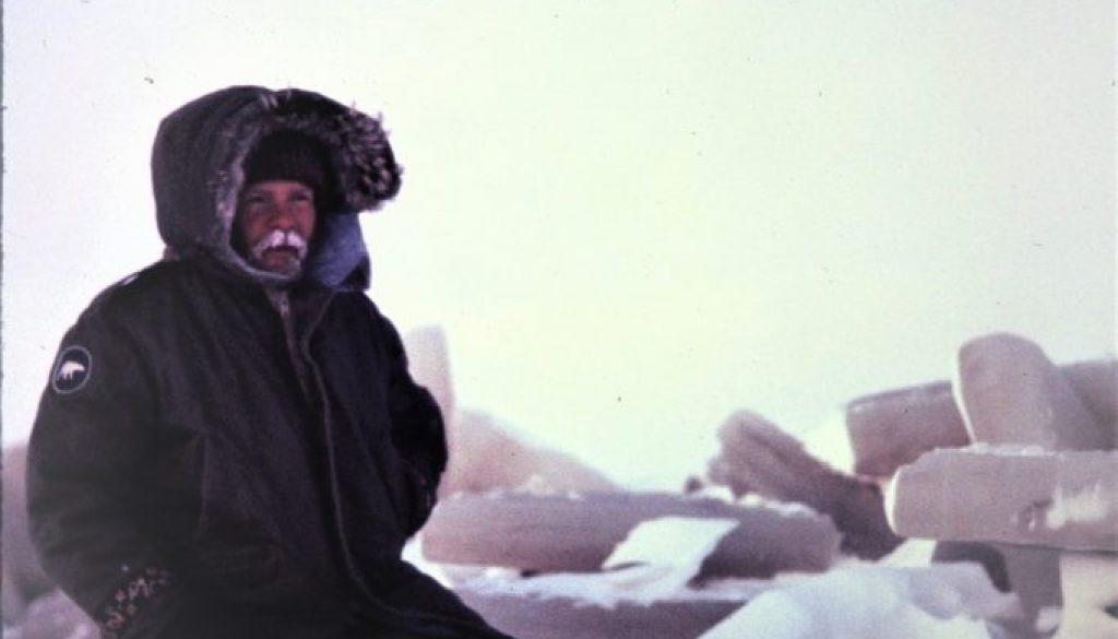 joe kneeling arctic