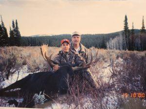 Wyoming Shiras Moose 2000