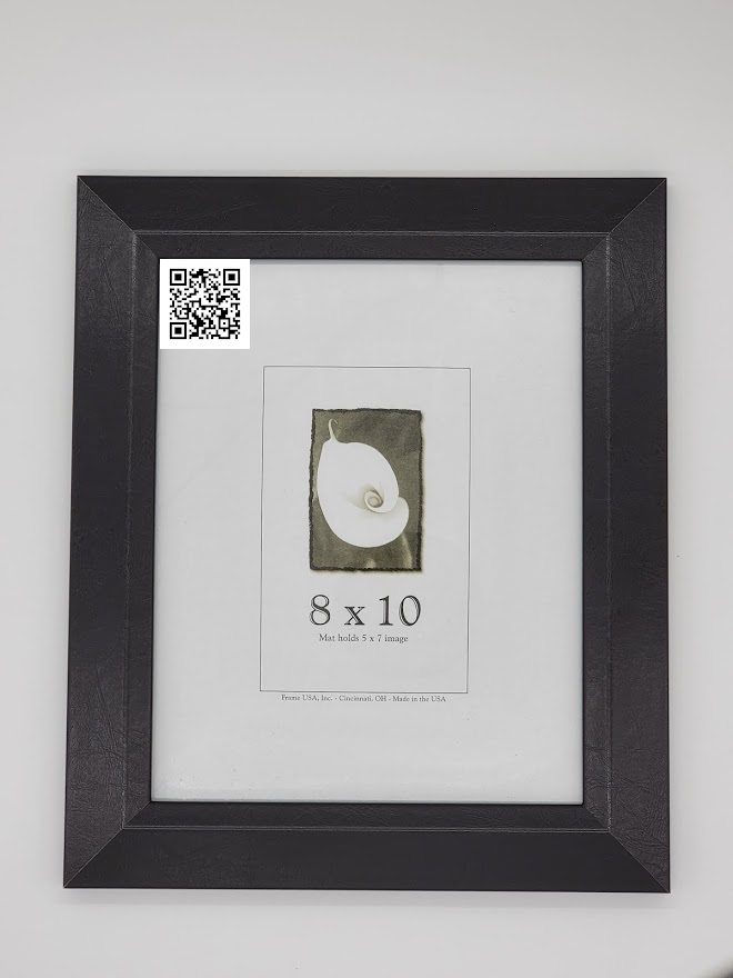 Picture Frame with QR Code TEST